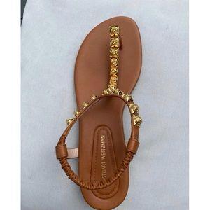Perfect condition Stuart Weitzman Tan Esme sandal